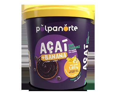 Açaí Pote 1,02kg - banana