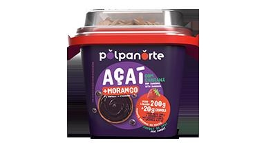 Açaí Pote 220g com Granola - Morango