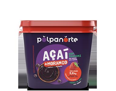 Açaí Pote 3,6kg - Morango