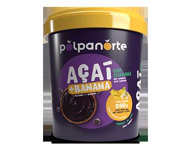 Açaí Pote 500g - Banana