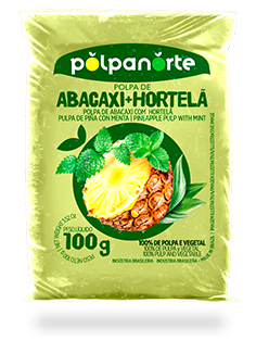 PINEAPPLE PULP WITH MINT 100G