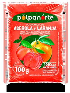 ACEROLA AND ORANGE PULP 100G