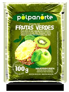 GREEN FRUIT'S PULP 100G