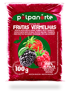 RED FRUIT'S PULP 100G